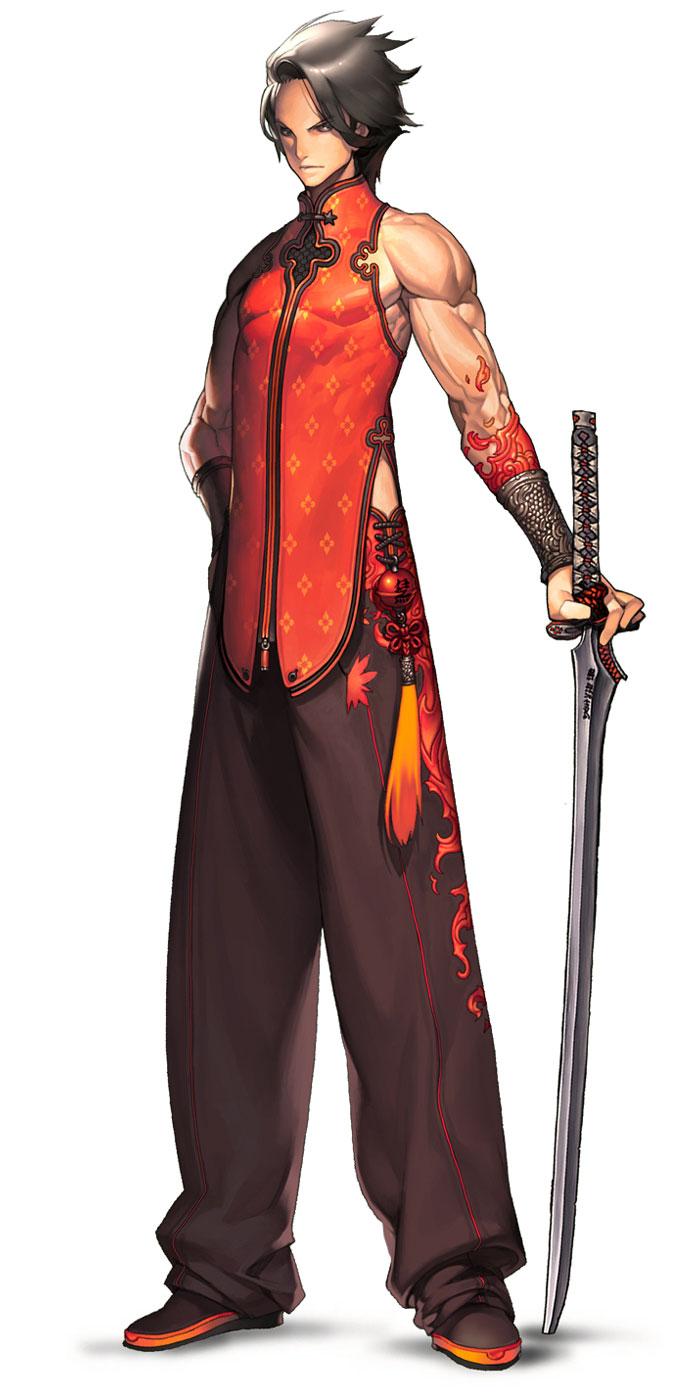 Blade N Soul Anime Characters : Blade soul anime art