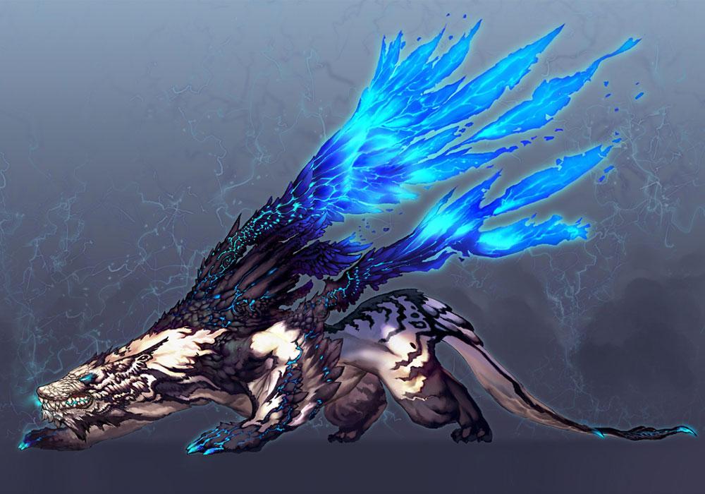 blue dragon bs